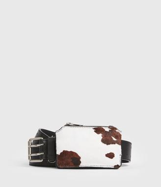 AllSaints Emma Leather Belt