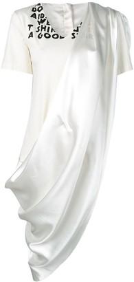 MM6 MAISON MARGIELA dress panelled T-shirt