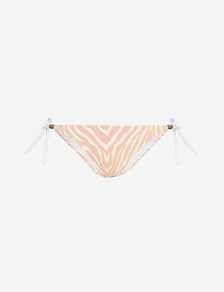 Heidi Klein Cape Town rope-tie high-rise bikini bottoms