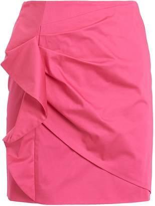 Derek Lam 10 Crosby Perinne Asymmetrical Ruched Mini Skirt