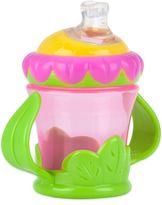 Nuby NubyTM Two-Handle 7 oz. Flower Child No-Spill Cup