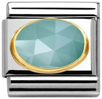 Nomination Unisex Charm Stainless Steel and Blue 030515/04