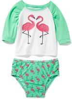 Old Navy 2-Piece Graphic Rashguard Set for Baby