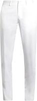 Ermenegildo Zegna Cotton-blend chino trousers