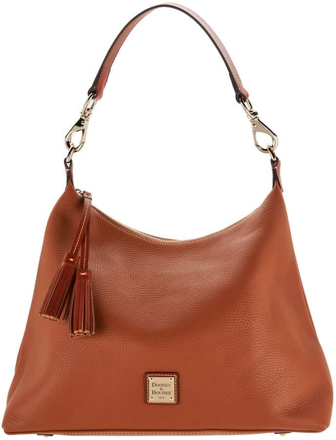 Dooney & Bourke Pebble Leather Hobo Handbag -Juliette