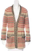 Chanel Bead Embellished Wool Cardigan
