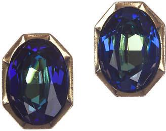 One Kings Lane Vintage YSL Aurora Borealis Headlight Earrings - Treasure Trove NYC