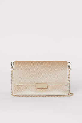H&M Velour Clutch Bag - Beige