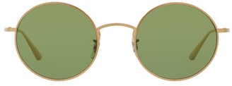 Oliver Peoples After Midnight 49MM Round Sunglasses
