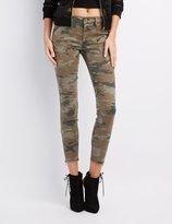 Charlotte Russe Refuge Camo Skinny Jeans