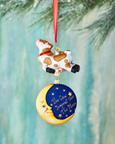 Christopher Radko Hey, Diddle! Cow Over the Moon Ornament