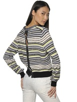 Proenza Schouler Textured Cotton Knit Sweater