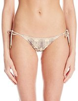 Sofia by Vix Women's Skin Tie Side Full Bikini Bottom