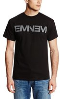 Bravado Men's Eminem Logo T-Shirt Black