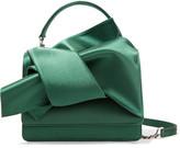 No.21 No. 21 - Knot Satin Shoulder Bag - Jade