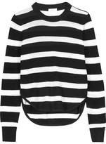 A.L.C. Riley Striped Cotton Sweater