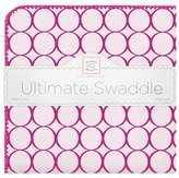 Swaddle Designs Mod Circles Ultimate Swaddle in Berry Red