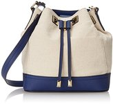 Calvin Klein Canvas Drawstring Shoulder Bag