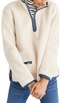 Madewell Women's Zooey Fleece Pullover