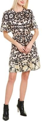 Rebecca Taylor Kaleidoscope Midi Dress