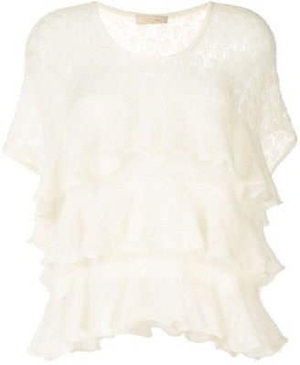 Mes Demoiselles Ruffle Layered Top