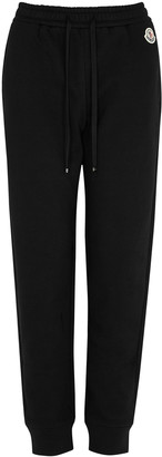 Moncler Black Cotton-blend Sweatpants