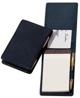 Royce Leather Royce Journalist-Style Leather Flip Notepad