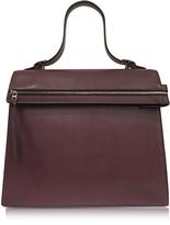 Victoria Beckham Topaz Burgundy Leather Handbag