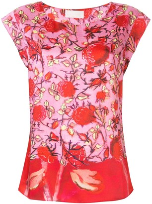 Peter Pilotto Floral Print Top