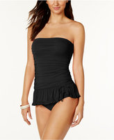 Coco Rave Ruched Bandeau Swimdress