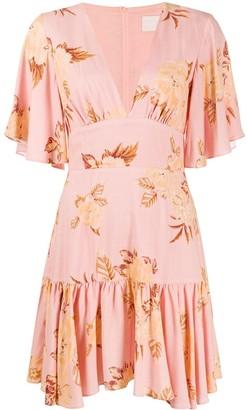 Keepsake Forever floral print dress