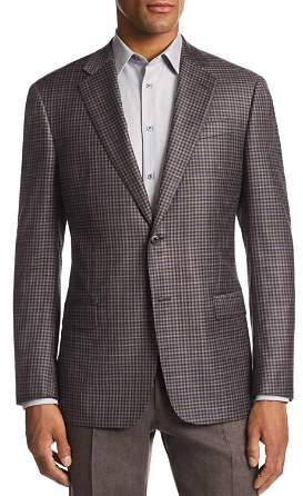 Giorgio Armani G-Link Check-Print Tailored Fit Jacket