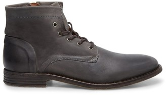 Steve Madden Mufasa Grey Leather