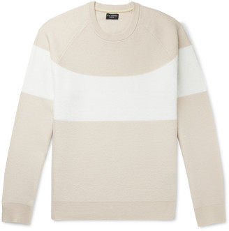 Club Monaco Striped Cashmere Sweater
