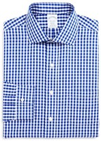 Brooks Brothers Gingham Non-Iron Classic Fit Dress Shirt