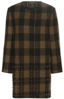 Etro Plaid wool coat