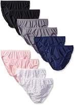 Vanity Fair Women's True Comfort Cotton Stretch Hi Cut Panties