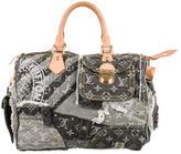 Louis Vuitton Patchwork Denim Speedy Bag