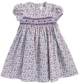 Luli & Me Infant Girl's Floral Smocked Dress