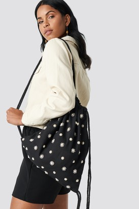 NA-KD Embellished Tote Sack