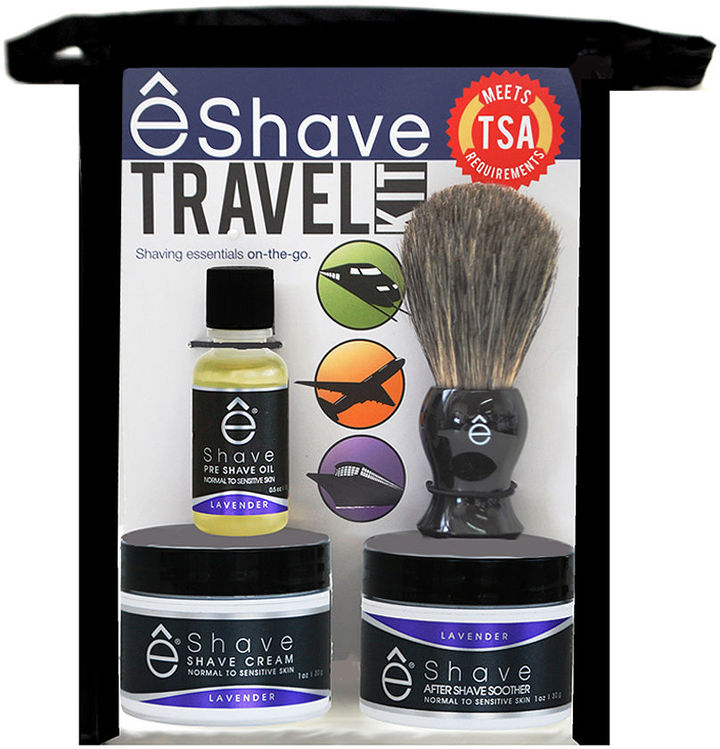 eShave Travel Kit, Lavender 1 ea