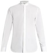 Saint Laurent Wingtip-collar single-cuff cotton shirt