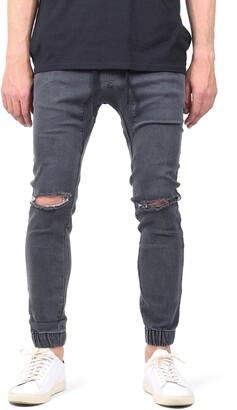 LIRA Daily Denim Ripped Jogger Pants
