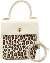 Charlotte Olympia Ecru Leather Handbags