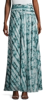 The Jetset Diaries Serpiente Printed Maxi Skirt
