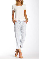 Marrakech Hollywood Cropped Linen Pants