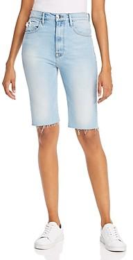 Frame Le Vintage Denim Bermuda Shorts