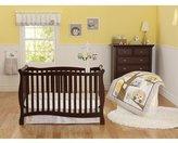 7pc Baby Girl Boy Gray Yellow Owl Polka Dot Crib Set by COM