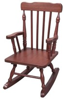 Gift Mark Kids' Colonial Rocking Chair - Cherry