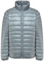 Sawadikaa Men's Ultra Light Packable Stand Collar Winter Pillow Down Jacket